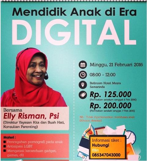 Seminatr-Parenting-Elly-Risman-Mendidik-Anak-Era-Digital-Samarinda-Hotel-Mesra-Februari-2016