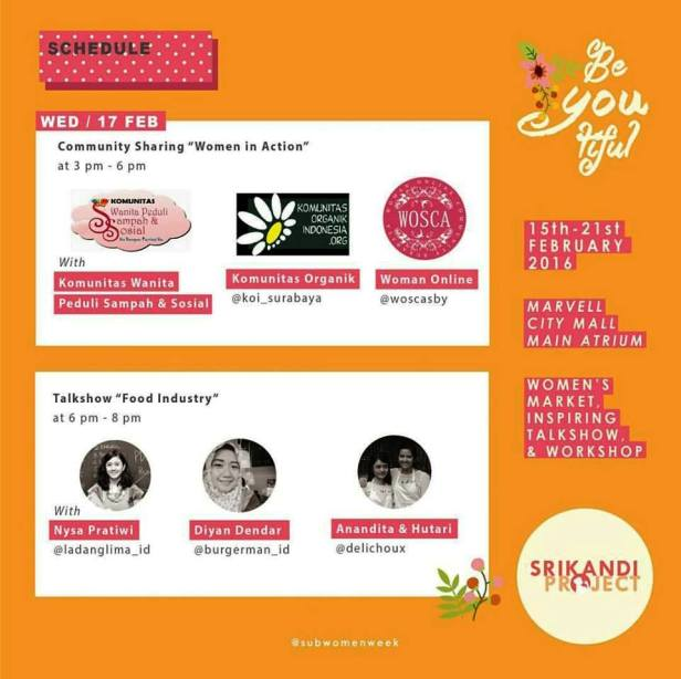 Srikandi-Project-Women-Market-Week-Surabaya-Rabu-Sampah-Organik-Wosca-Food