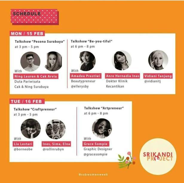 Srikandi-Project-Women-Market-Week-Surabaya-Senin-selasa-Pesona-Duta-Pariwisata-Beauty