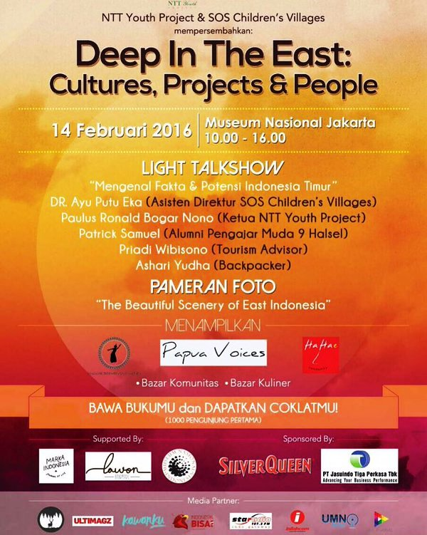 Talkshow-Deep-In-The-East-SOS-Children's-Villages-NTT-Youth-Project-Monas-Jakarta-Februari-2016