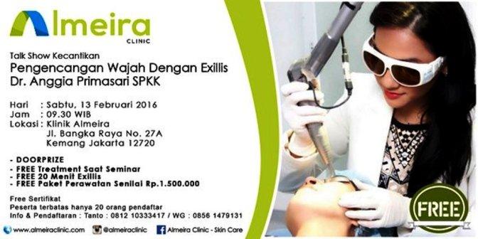 Talkshow-Kecantikan-Almeira-Clinic-Jakarta-Februari-2016