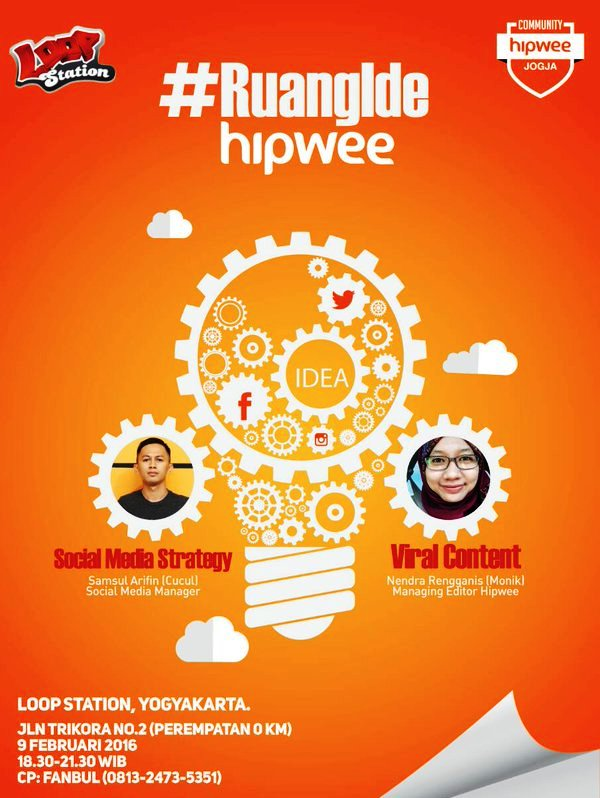 Talkshow-Project-Hipwee-Community-#RuiaIde-Yogyakarta-Loop-Station-Februari-2016