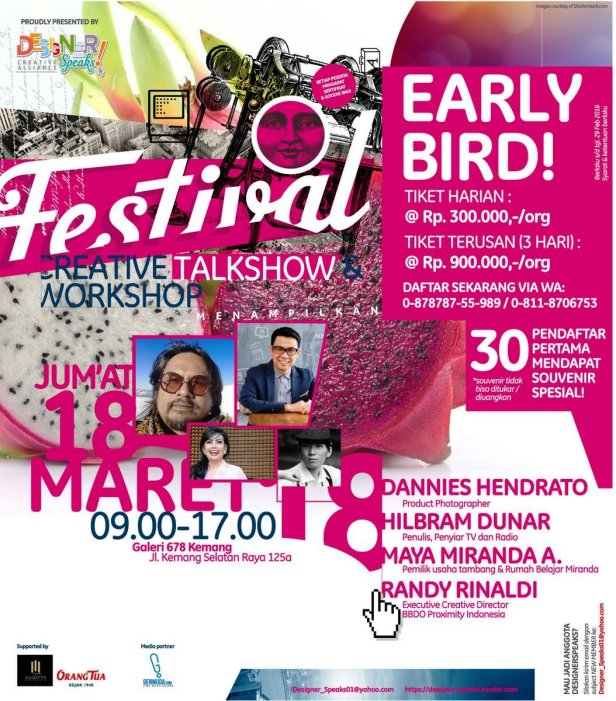 DesignerSpeaks!-Festival-2016-Kemang-Hilbram-Dunar-Maret-Jakarta