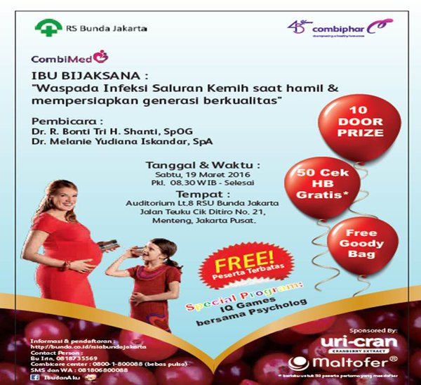 Seminar-Awam-CombiPhar-Medical-Bunda-Jakarta-Hamil-Jakarta-Maret-2016