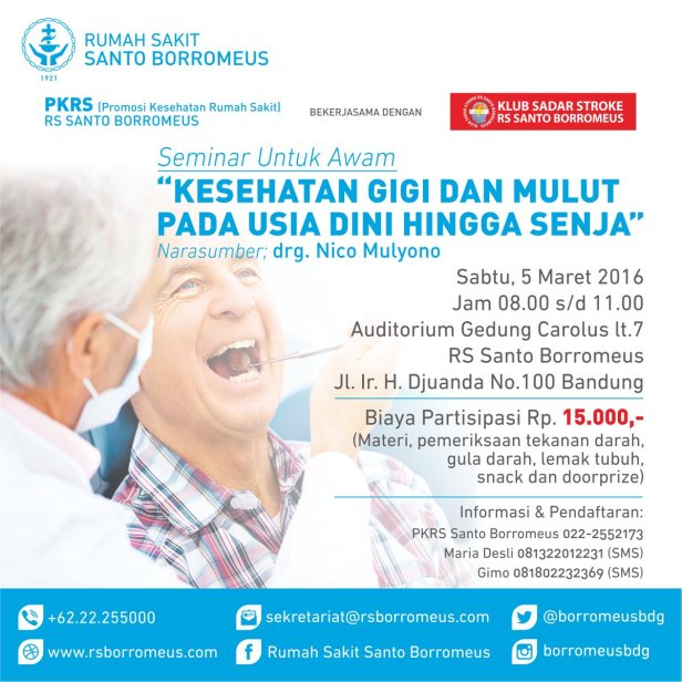 Seminar-Awam-Kesehatan-Gigi-Santo-Borromus-Bandung-Maret-2016