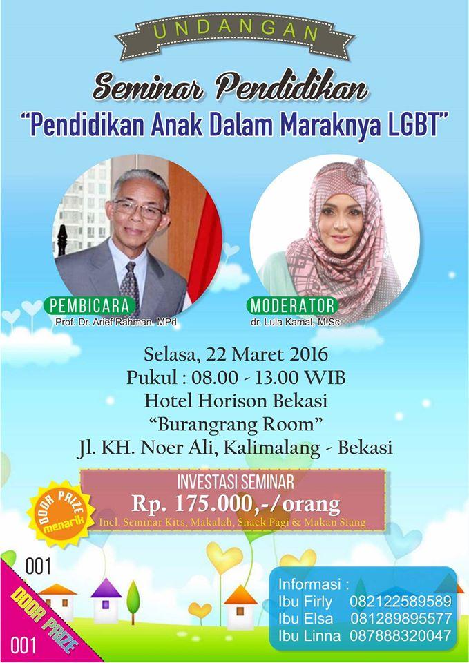 Seminar Edukasi Keluarga