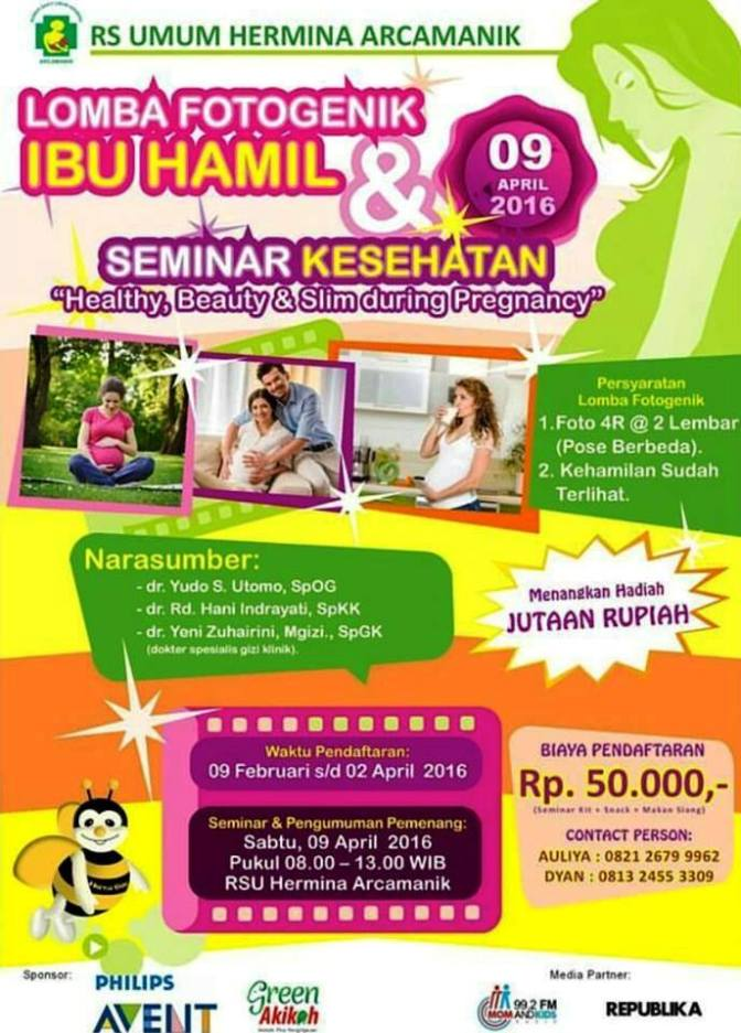 Info Liputan Blogger Bandung: Seminar Kesehatan Ibu Hamil