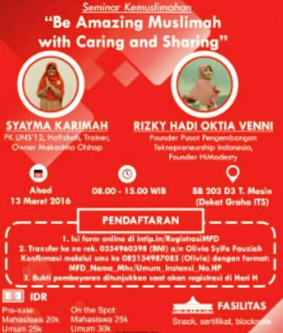 Seminar-Muslimah-Fun-Day-ITS-Surabaya-Maret-2016