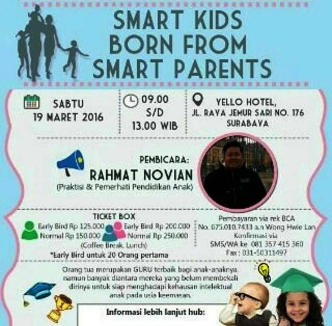 Seminar-Smart-Parenting-Surabaya-Yello-Hotel-Surabaya-Maret-2016