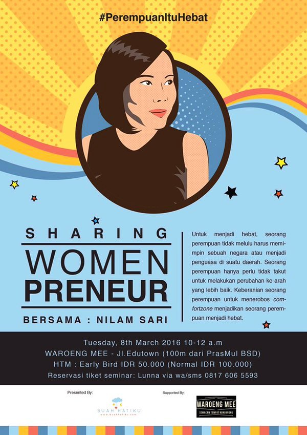 Sharing-Session-Women-Preneur-Waroeng-Mee-BSD-Nilaam-Sari-Tangerang-Maret-2016