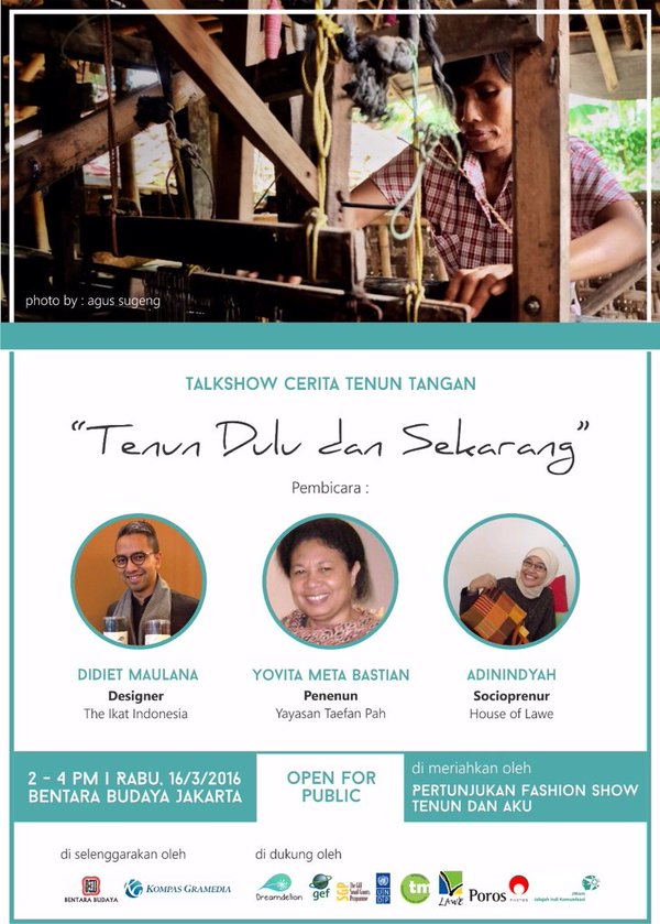 TALKSHOW-CERITA-TENUN-TANGAN-Bentara-Budaya-Jakarta-Maret-2016