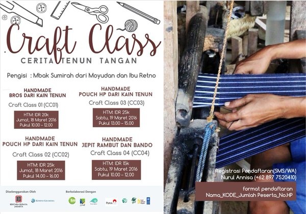 TALKSHOW-CERITA-TENUN-TANGAN-Craft-Day-Bentara-Budaya-Jakarta-Maret-2016