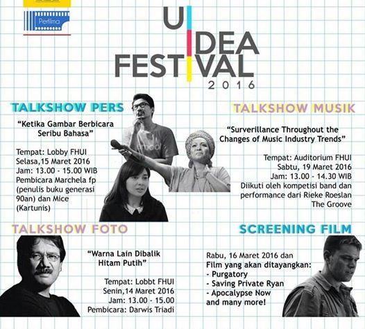 Talkshow-Komik-Foto-UI-Idea-Festival-Darwis-Triadi