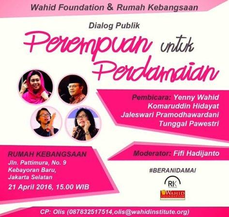 Diskusi-Terbuka-Rumah-Kebangsaan-Wahid-Institute-Kartini-April-2016