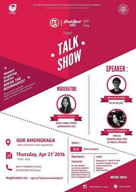 Girls-Day-Talkshow-Female-Sport-2016-Kartini-UGM-April-2016-Jogjakarta