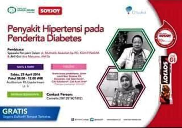 Seminar-Awam-Diabetes-Soyjoy-Usada-Insani-Tangerang-April-Diabetes-2016