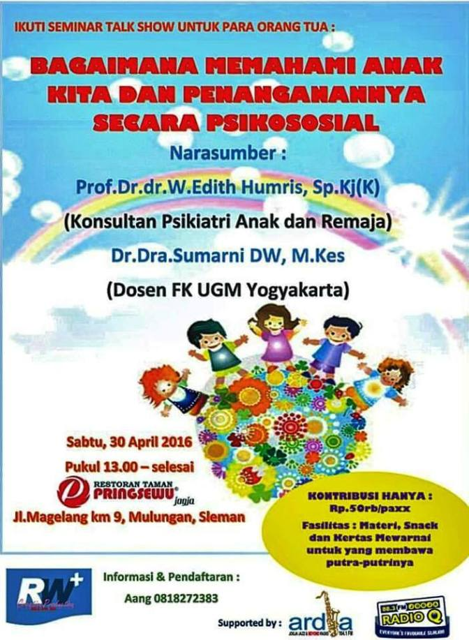 Info Liputan Blogger Jogjakarta: Seminar Edukasi Parenting