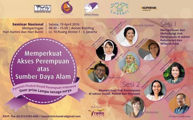 Seminar Nasional-Annex-Buiding-April-Jakarta-2016-Kartini-Bumi