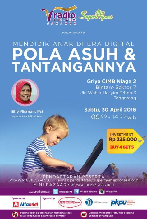 Seminar-Parenting-Supermoms-V-Radio-Bintaro-Tangerang-April-2016