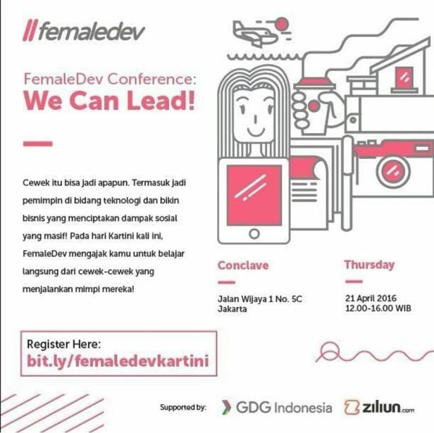 Sharing-FemaleDev-Blogger-Technology-Kartini-Conclave-Jakarta-April-2016