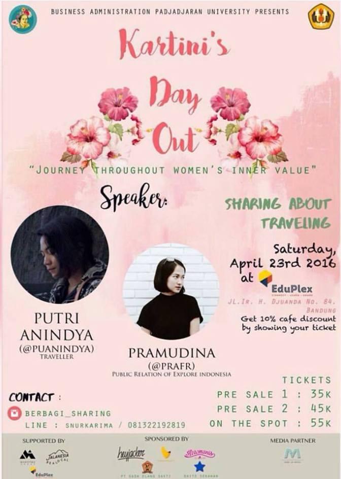 Sharing-Kartini-Female-Blogger-Traveller-Eduplex-Bandung-Dago-April-2016