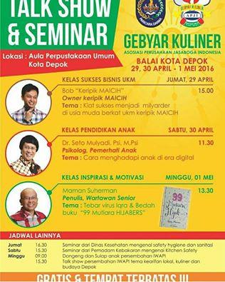 Talkshow-Gebyar-Kuliner-Jasaboga-Indonesia-Micih-Seto-Mulyad-Maman-Depok-April-2016