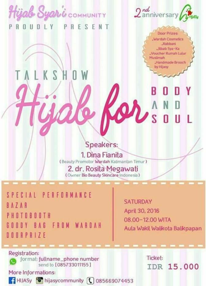 Talkshow-Hijab-syari-Community-Kartini-Kalimantan-April-2016