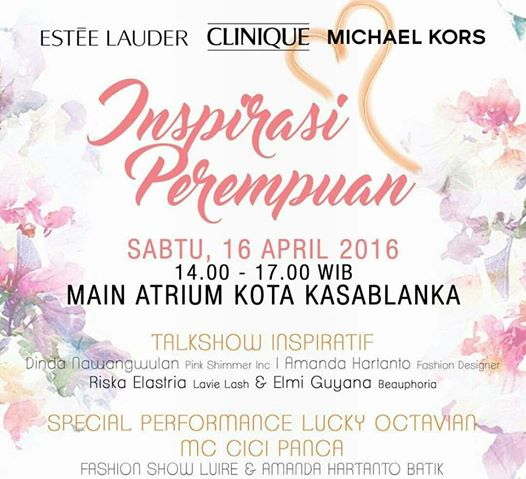 Talkshow-Kartini-April-Jakarta-2016-Estee-Lauder-Clinique-Kokas