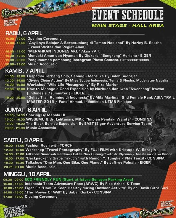 Talkshow-OutDoor-Lifestyle-Festival-Eiger-Consina-Senayan-Indo-Fest-April-2016