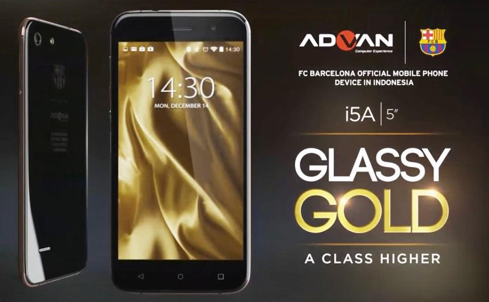 Advan I5A 4G LTE Vandroid Bertenaga Tiki Taka Ahmed
