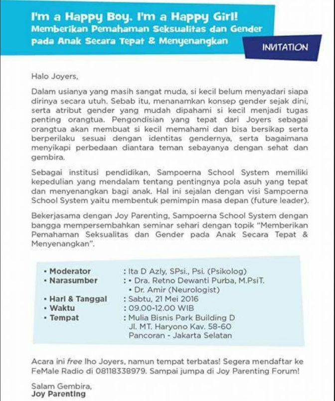 Sampoerna-School-System-Seminar-Joy-Parenting-Seksualitas-Mei-Jakarta-2016