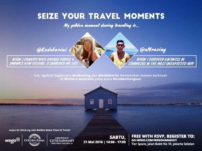 Info Liputan Blogger Jakarta: Talkshow Travel Wego Hangout