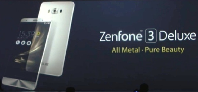 ASUS Zenfone 3 Deluxe: Built For Incredible Superphone