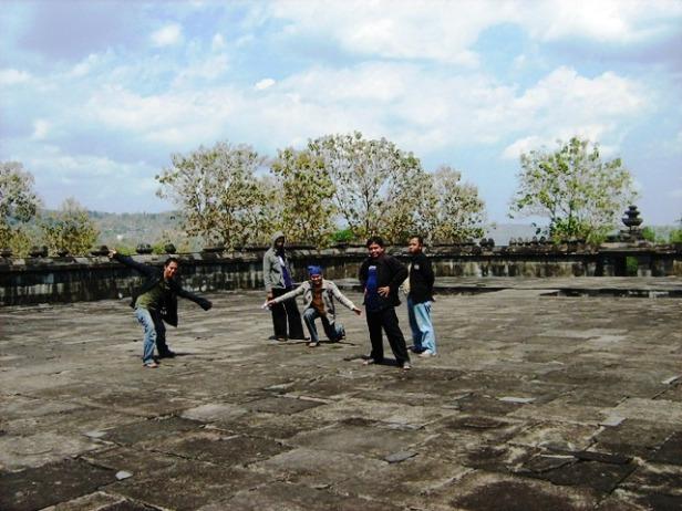 Bekas Pendopo Istana Ratu Boko ini Cocok Untuk Tempat Pertunjukan